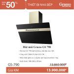 Hút mùi GRASSO GS 790