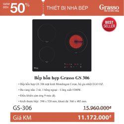 Bếp hỗn hợp Grasso GS 306