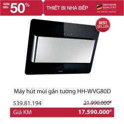 Hút mùi Hafele HH-W VG 80D