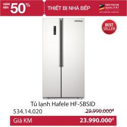 TỦ LẠNH HAFELE HF-SB SID 534.14.020